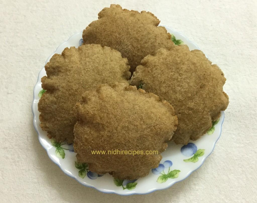 Chestnut Flour Puri