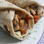 Mushroom Curry Wrap