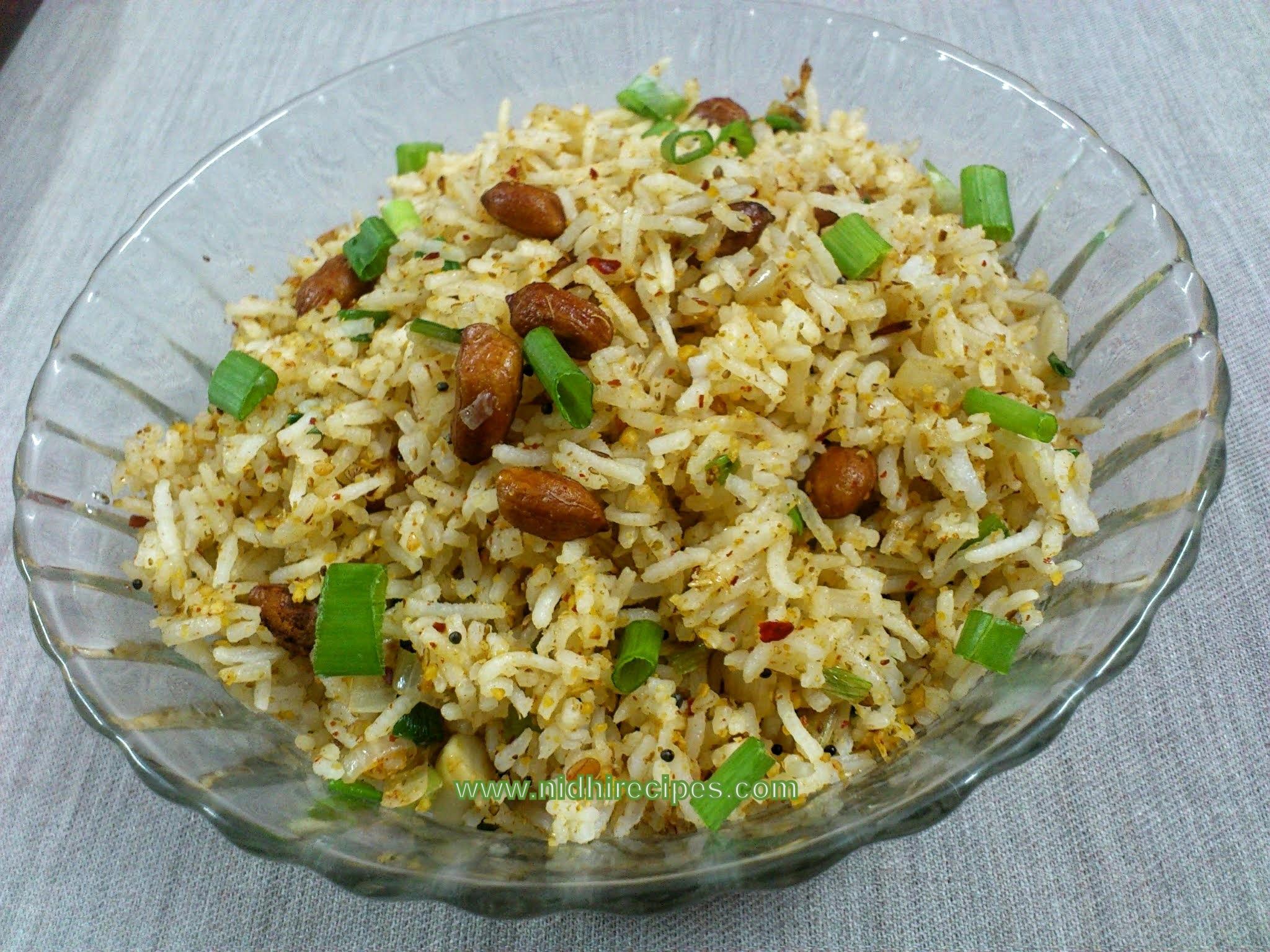Spring Onion Rice