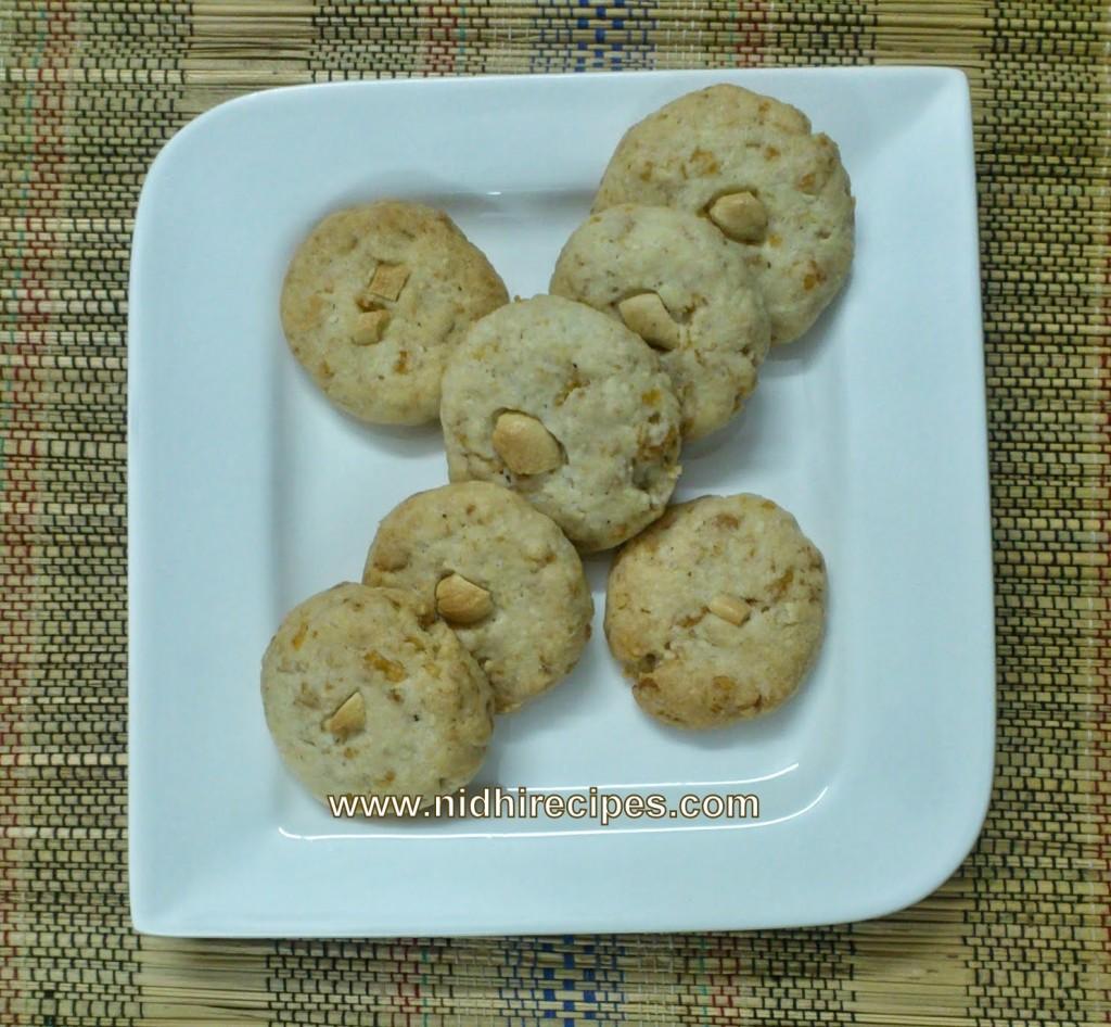 Cashew Cornflakes Cookies