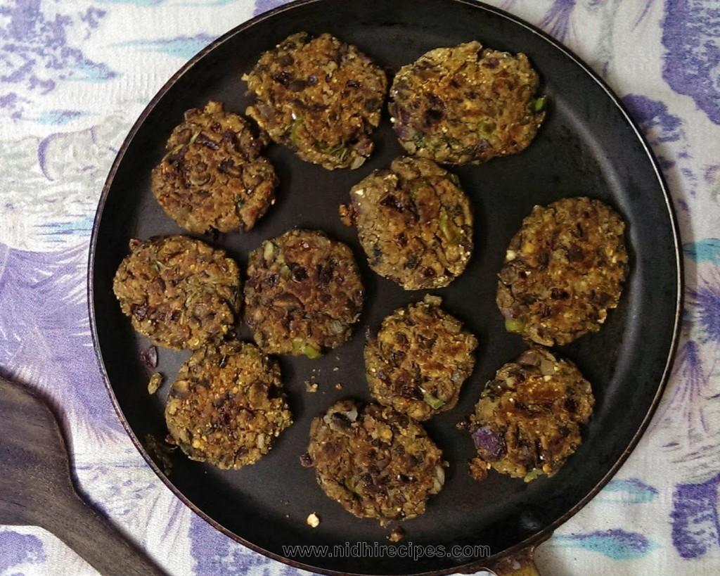 Mushroom Oats Kabab