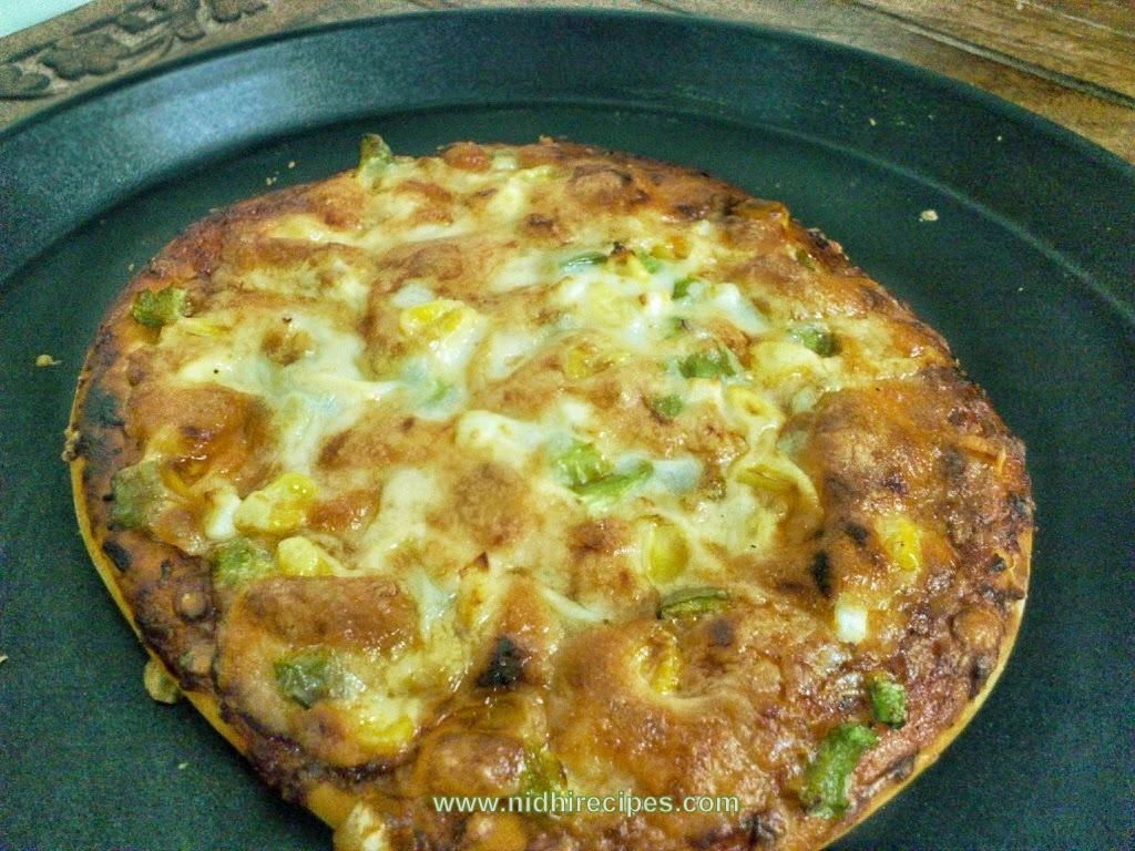 Bell Pepper, corn n paneer Pizza